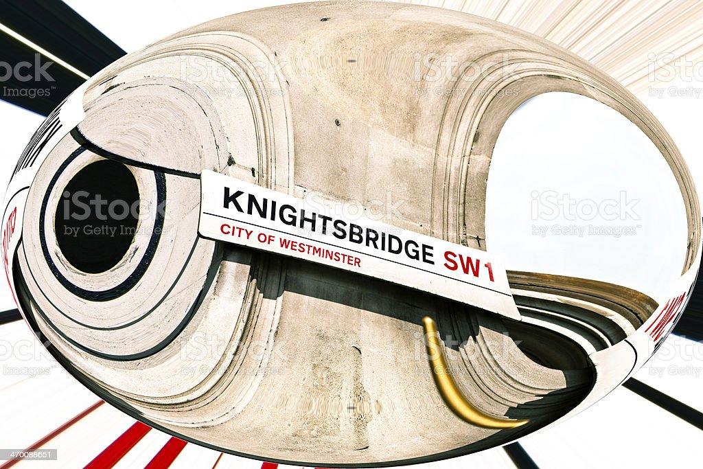 Knightsbridge stock photo
