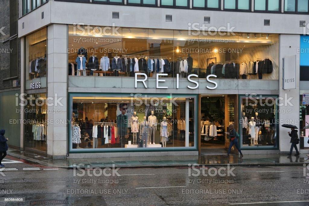 Knightsbridge shopping stock photo