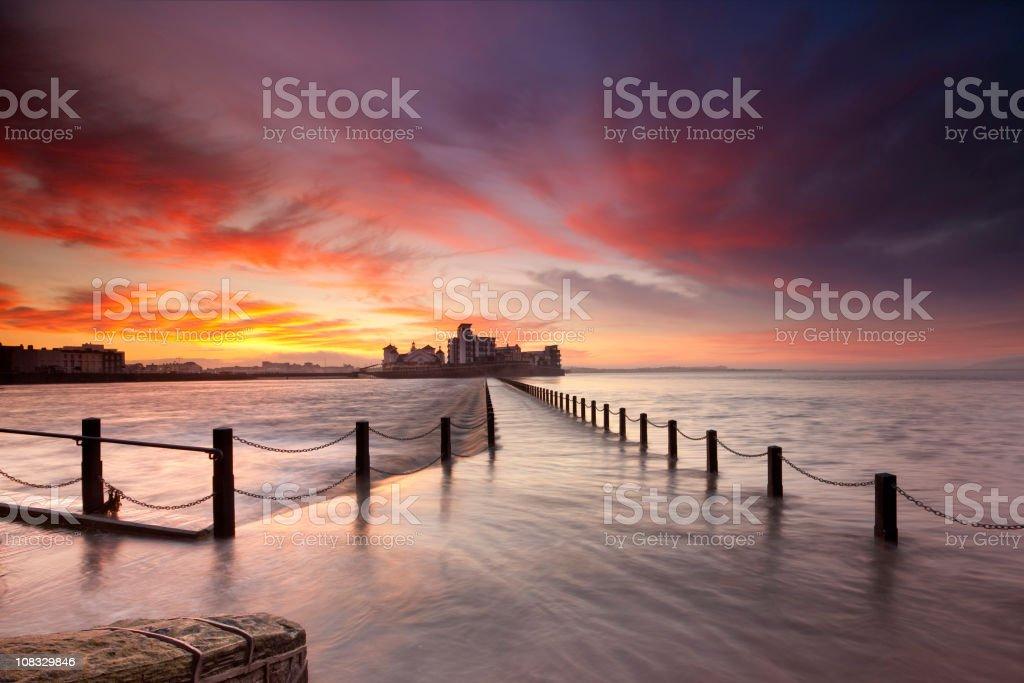 Knightsone Island stock photo
