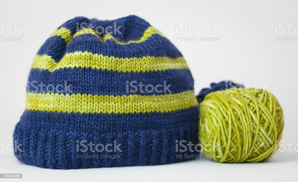 Knit Hat royalty-free stock photo