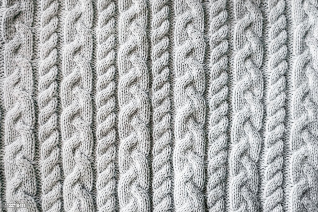 Knitted Background Knitted Texture A Sample Of Knitting ...
