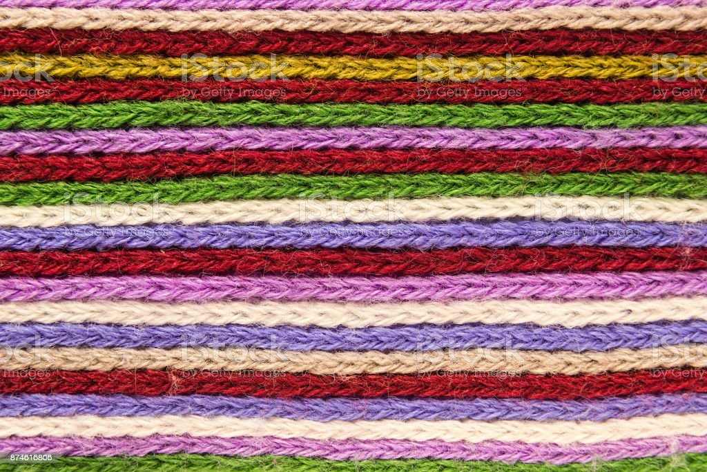 Knitted Background Knitting Pattern Knitted Texture A ...