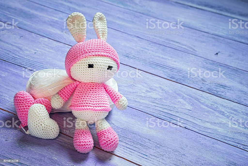 Amigurumi love bunny crocheted heart with bunny free pattern | The ... | 683x1024