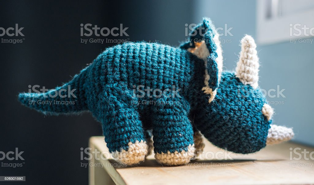 Tejido de dinosaurio - foto de stock