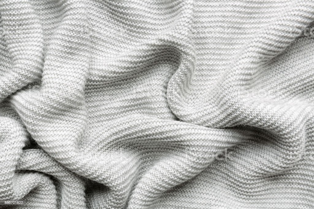 knitted fabric background stock photo