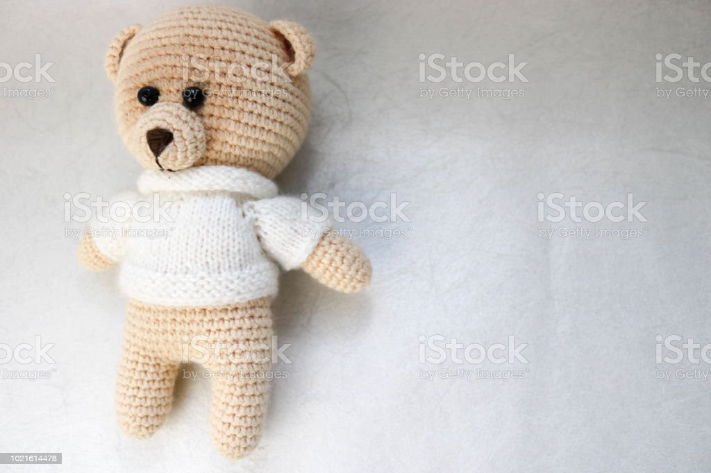 Bear Brown Amigurumi Animals Hand Knitted Toy Soft Plush Toy Teddy ... | 682x1024