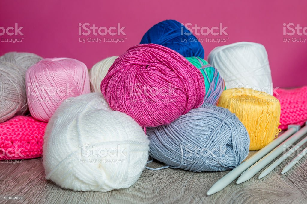Knitted sweater.  handmade foto stock royalty-free