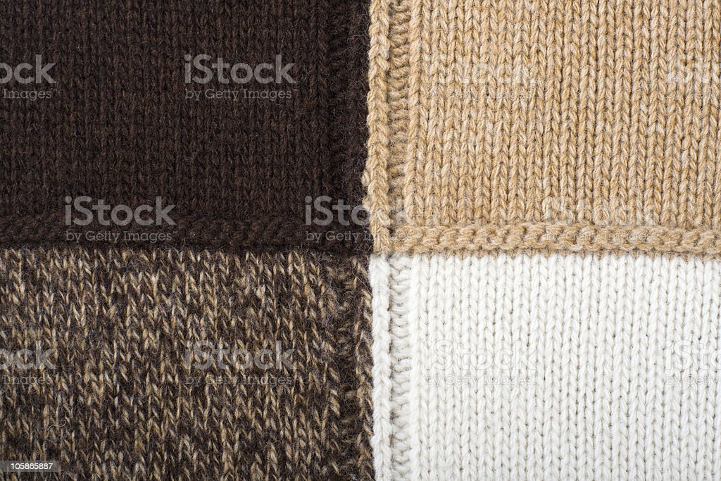 Knitted textile Backgrounds Abstract royalty-free stock photo