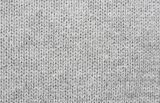 knitted wool textile background - wool stock photos and pictures