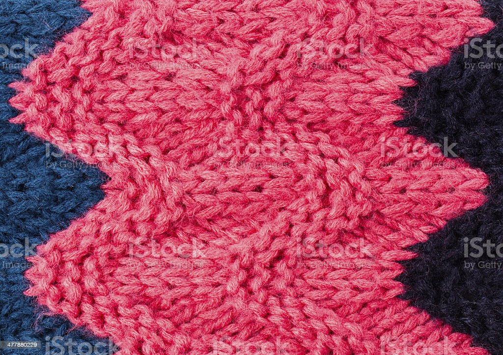 Knitting background texture. High resolution Knit woolen Fabric royalty-free stock photo