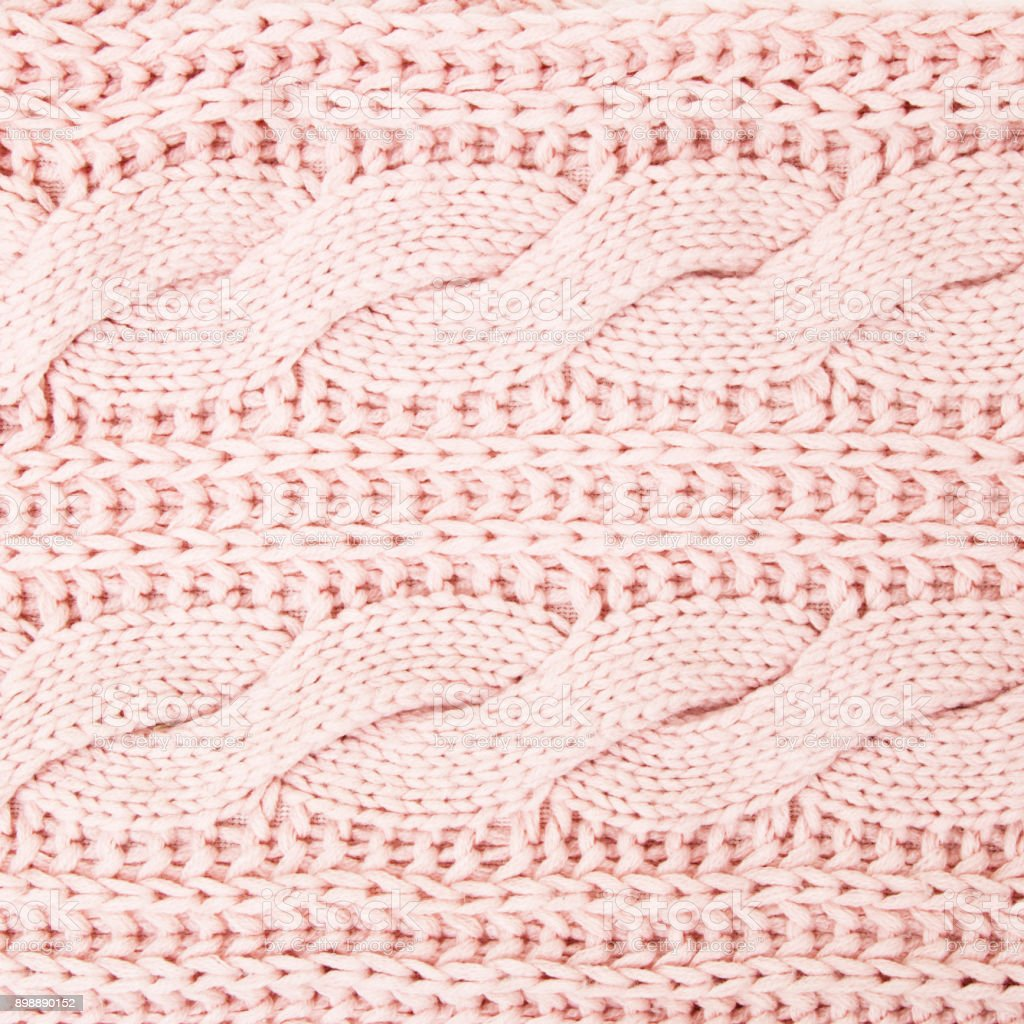 dd6152da95d5 Knitting background texture light pink color. Fabric textile background.  Pink wool texture pattern royalty
