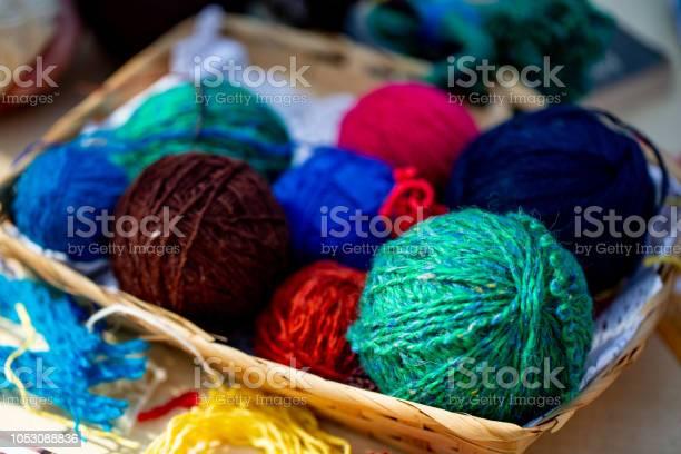 Knitting ball of yarn and knitting needles picture id1053088836?b=1&k=6&m=1053088836&s=612x612&h=xmbdj5txhspvx  pjkr4bm86l6s05xqiadnykkzplo0=