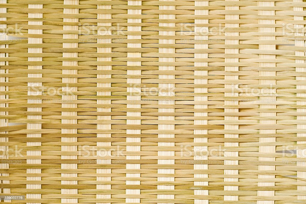 knitting bamboo royalty-free stock photo