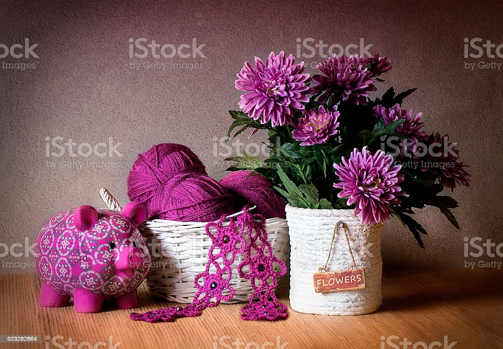 Knitting. stock photo