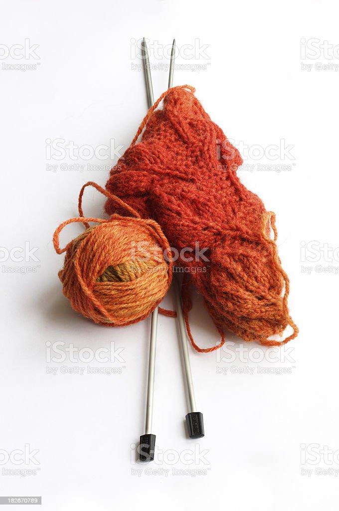 Knitting stuff royalty-free stock photo
