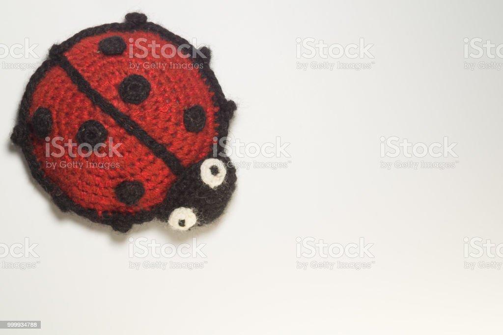 Ladybird Bug Juguete Tejer patrón
