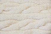 Knitting woolen texture