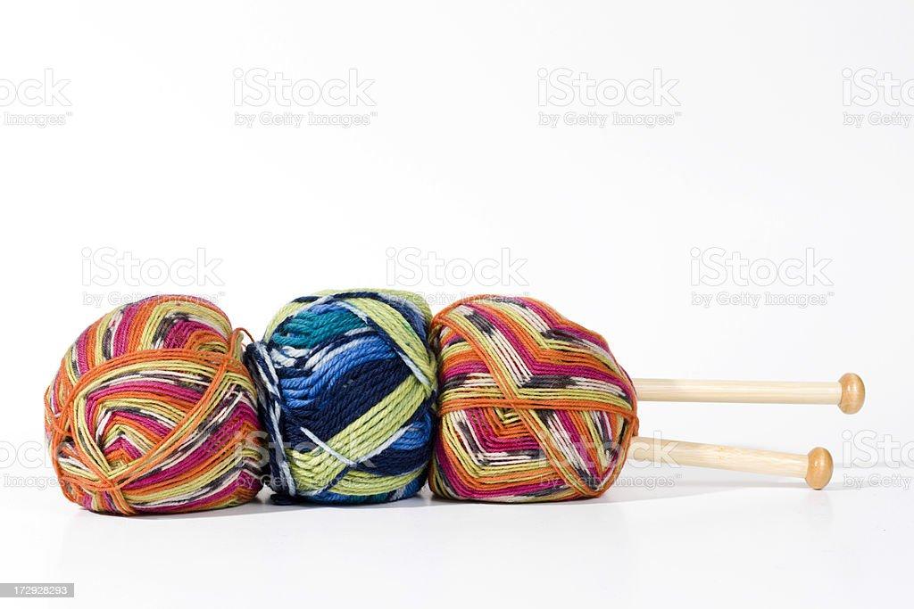Knitting Yarn stock photo