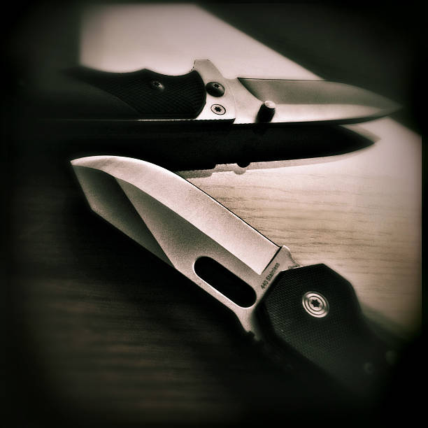 Knives  switchblade stock pictures, royalty-free photos & images