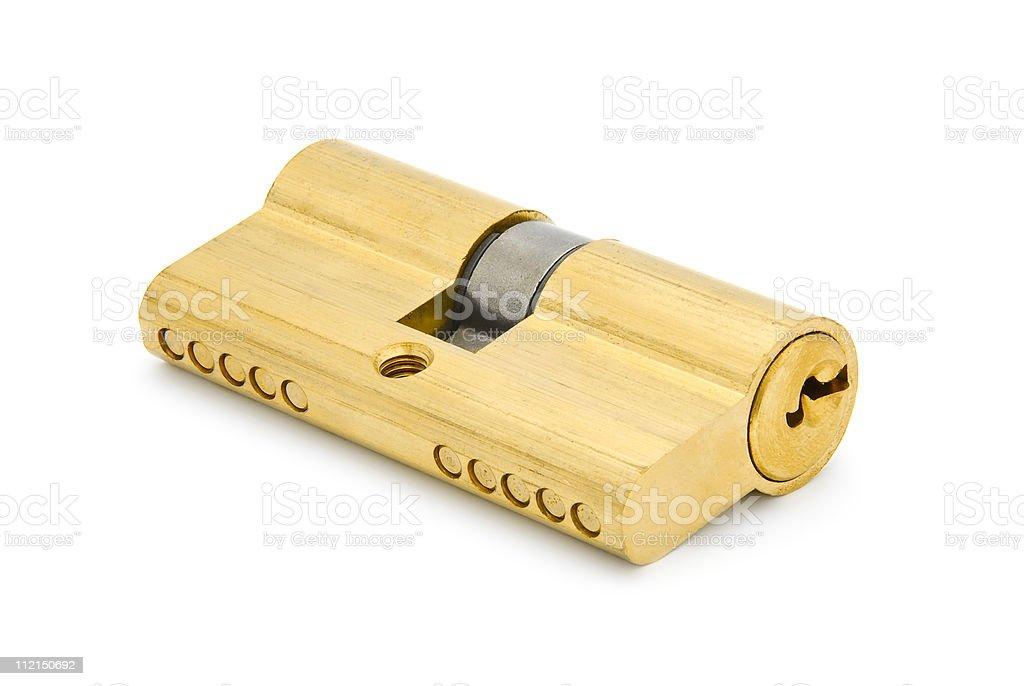 knob lock royalty-free stock photo