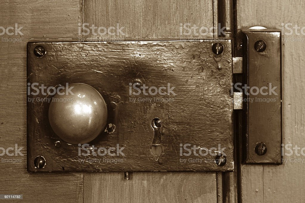 P.O. Knob royalty-free stock photo