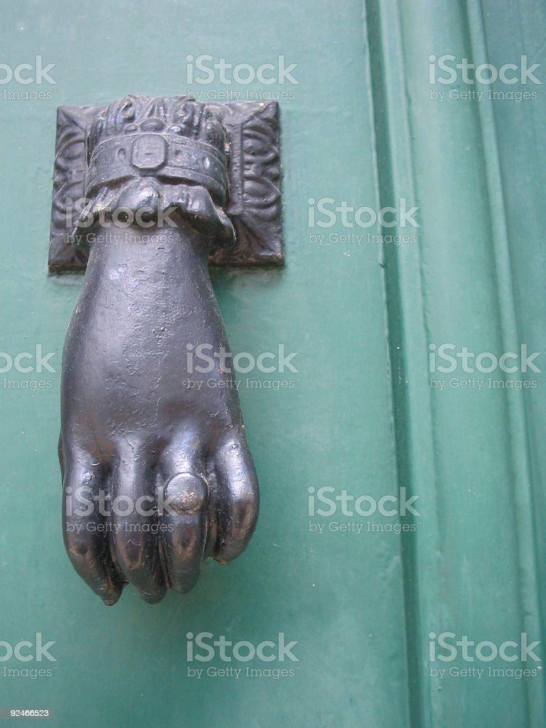 Knock Knock royalty-free stock photo