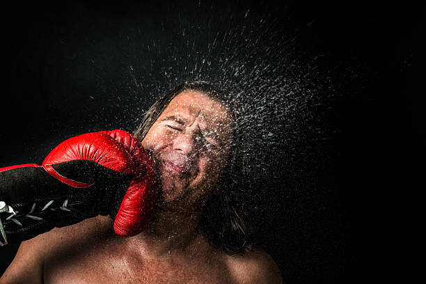 knock out - punching stock photos and pictures