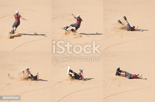istock Knocked down in the dunes 683569092