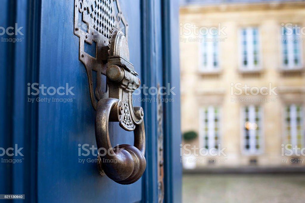 Avertisseur d'un manoir français - Photo