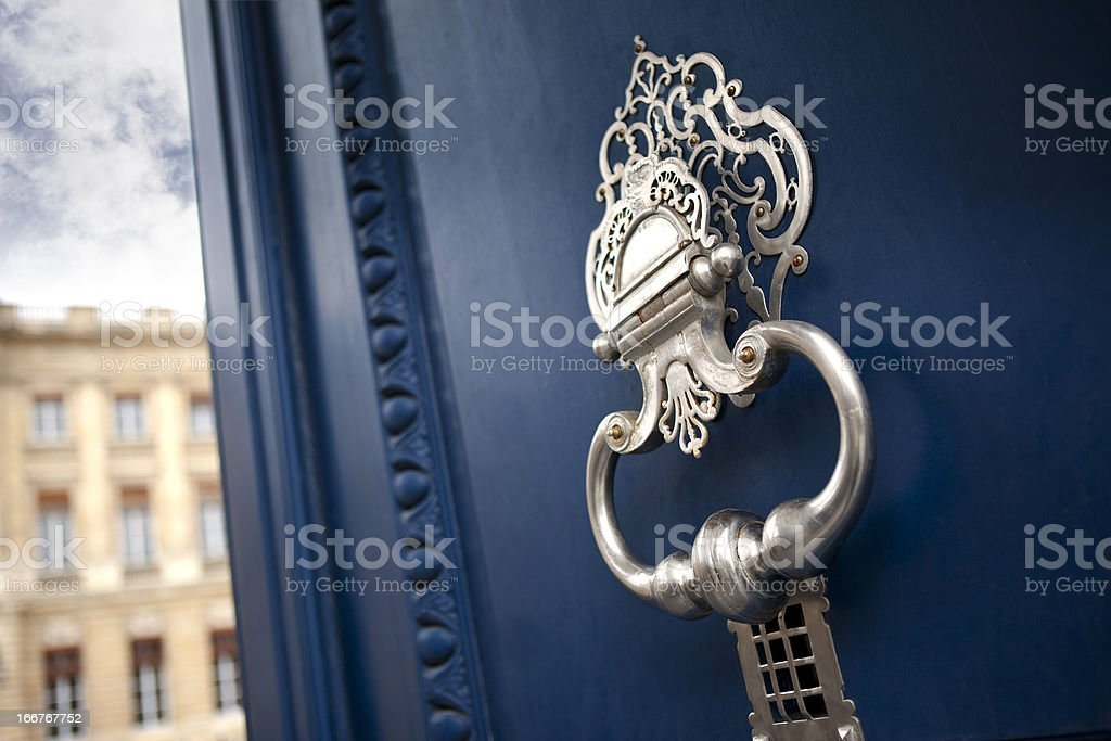 Knocker stock photo
