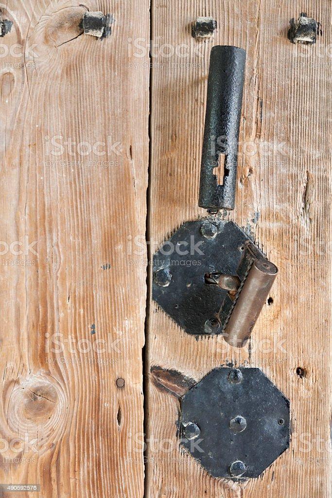 Knocker stock photo