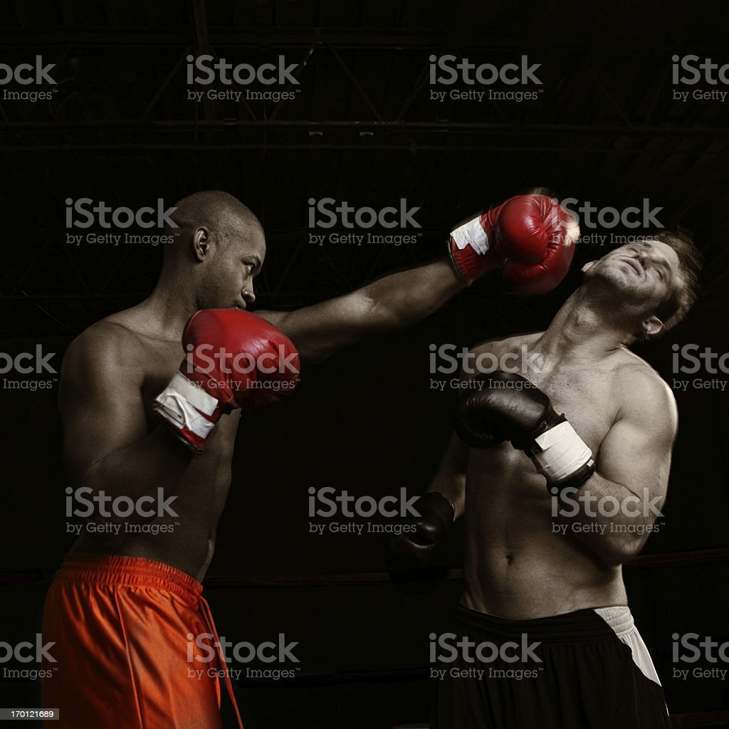 knocking out stock photo