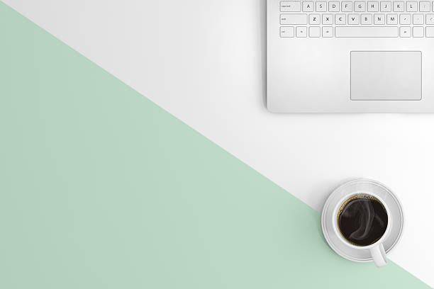 knolling office desk view - einfache holzprojekte stock-fotos und bilder