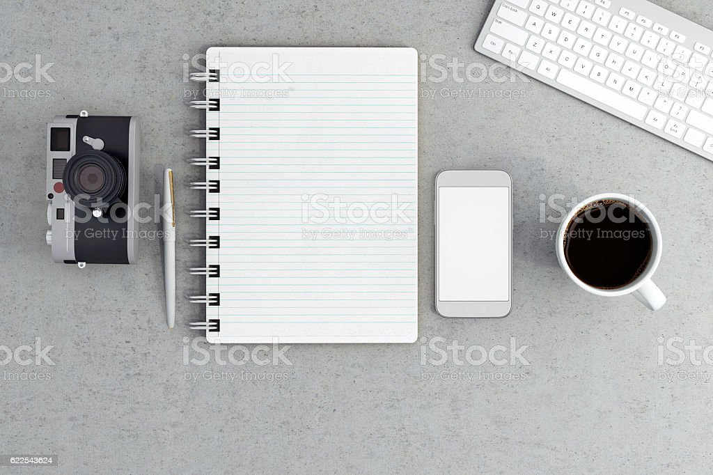 Knolling stock photo