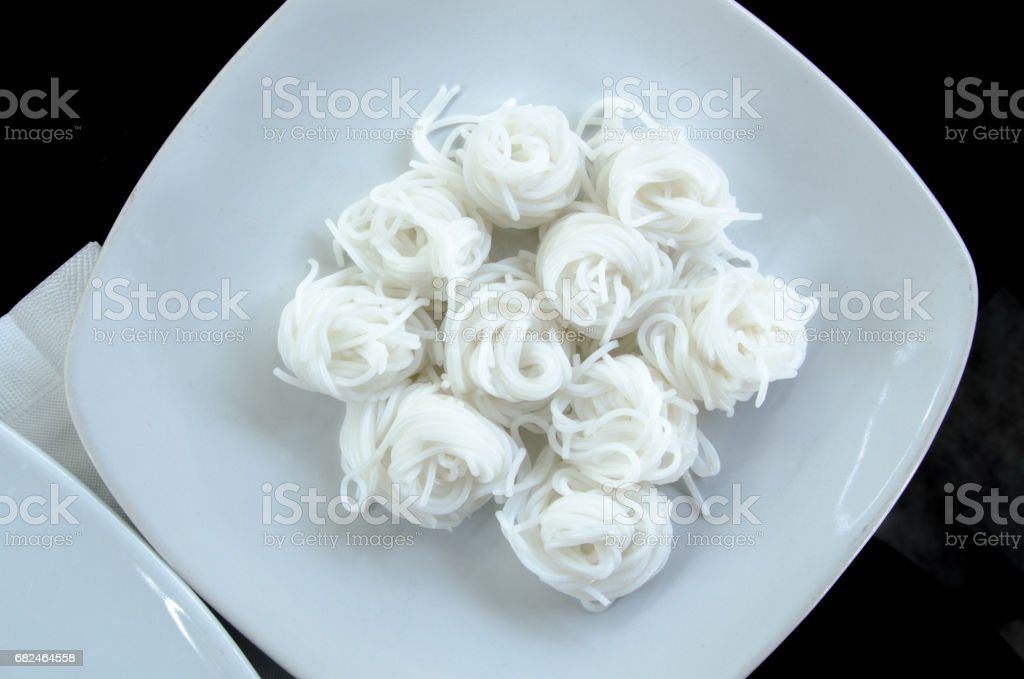 Knomjean on White Plate royalty-free stock photo