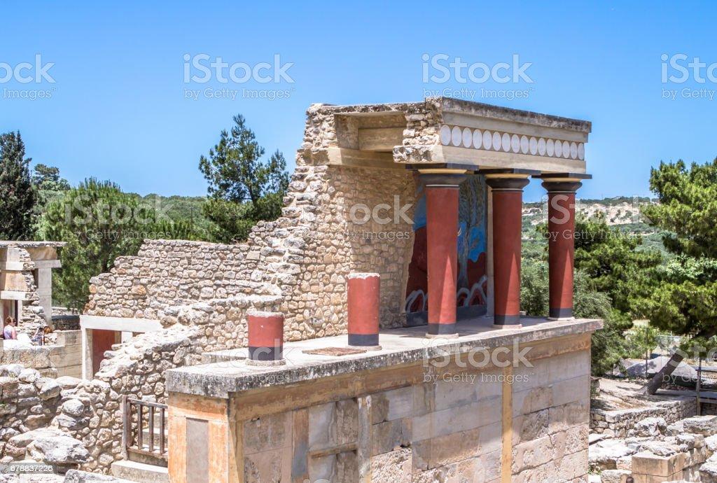 Knossos palace, Crete, Greece photo libre de droits