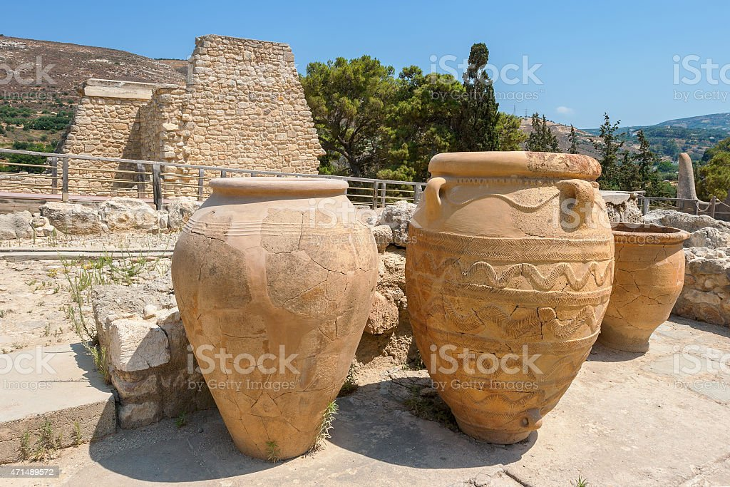 Palais de Cnossos. Crète - Photo