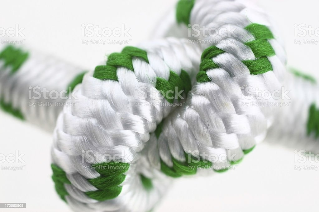 Knot close up royalty-free stock photo