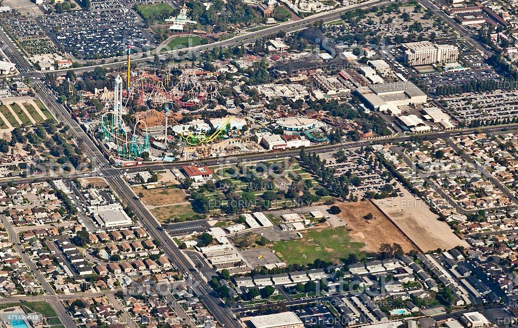 Knott's Berry Farm,  Buena Park, California, USA stock photo