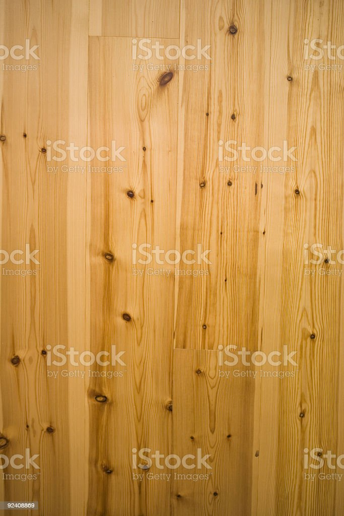 Knotty Pine Paneling royalty-free stock photo