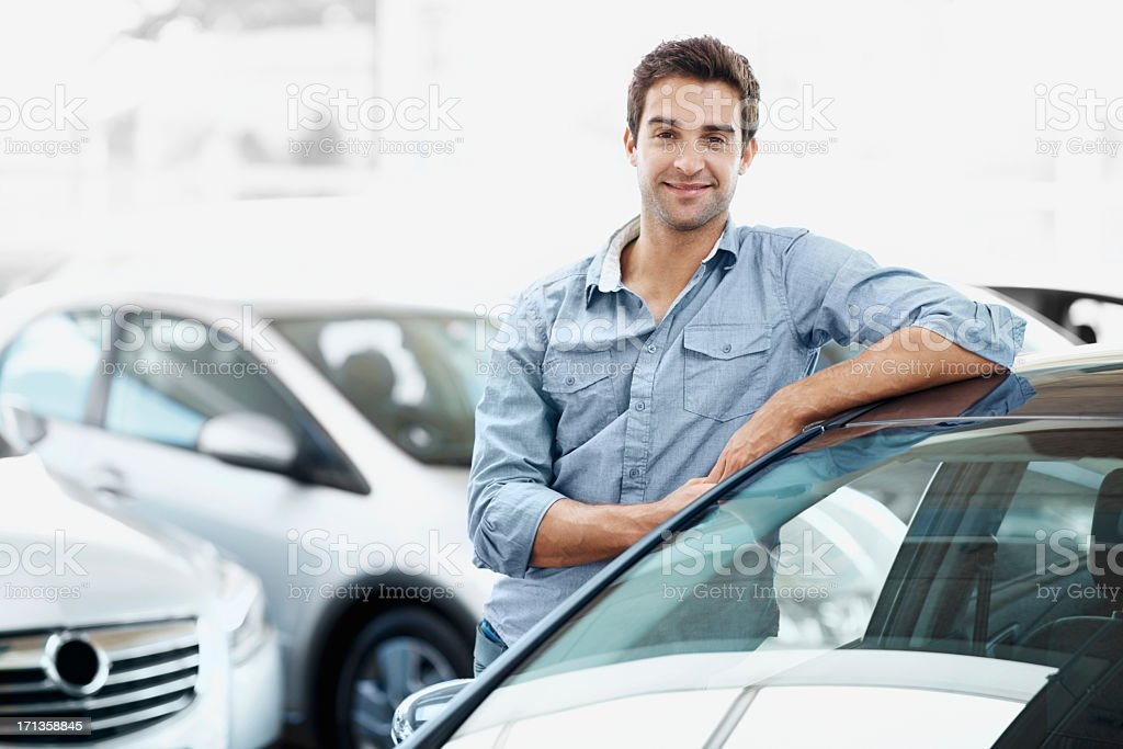 I know exactly which model I'm looking for stock photo