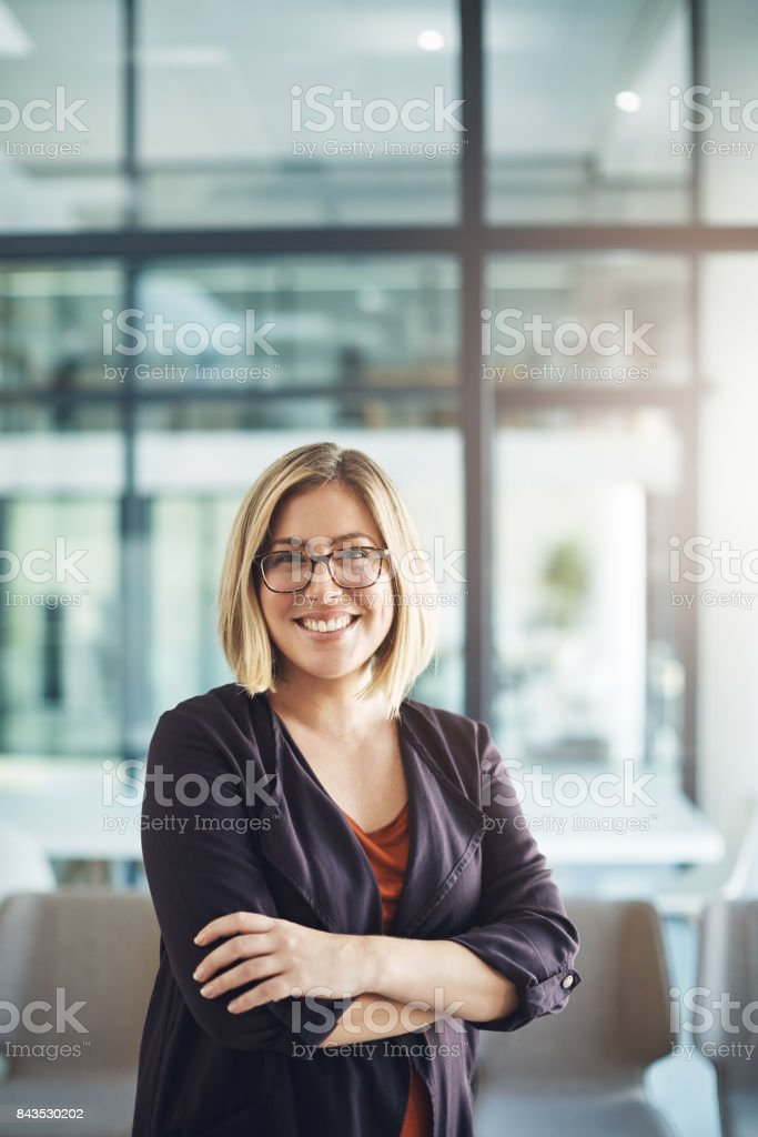 I know my worth in the business world stock photo