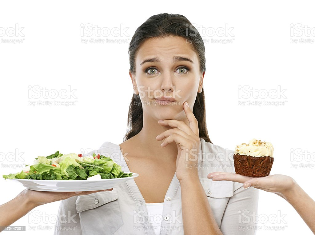 I know what to choose, but... stock photo