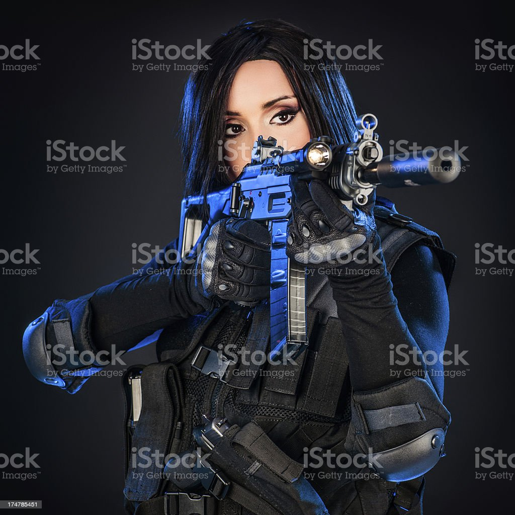 Know your enemy royalty-free stock photo