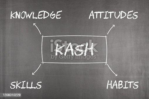 865186916 istock photo Knowledge Attitude Skill Habit 1206010229