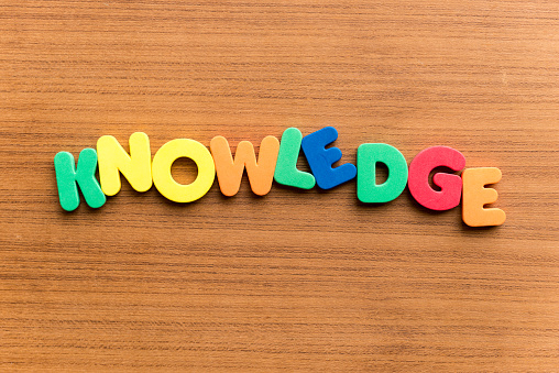 istock knowledge  colorful word 503778470