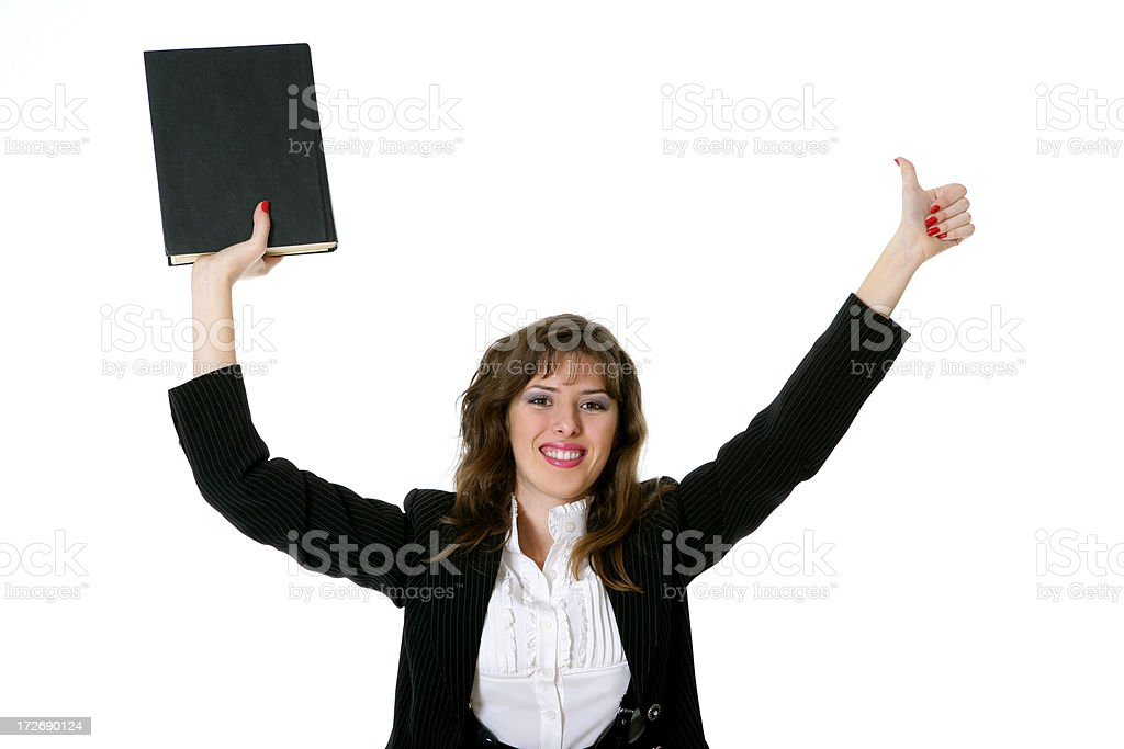 Knowledge - power! royalty-free stock photo