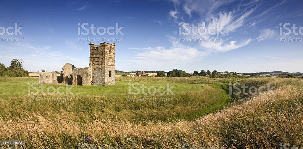 Knowlton Church, Dorset stock photo