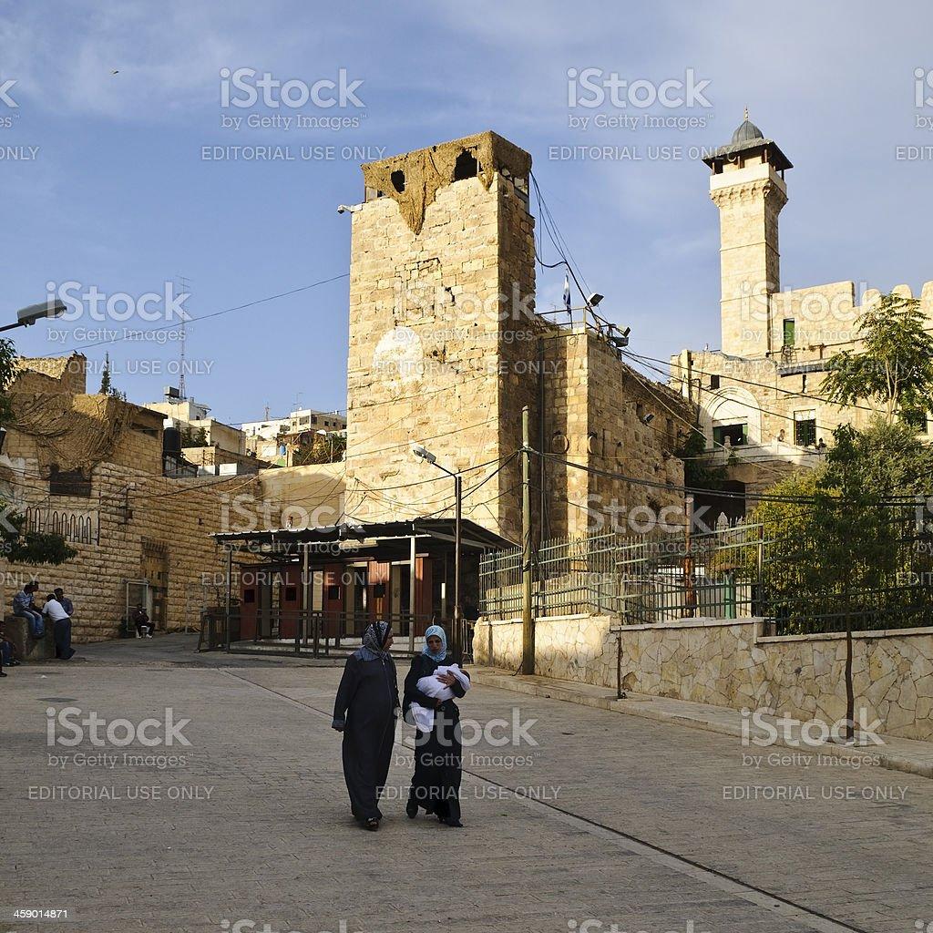Arabische und Jüdin in Hebron, West Bank – Foto