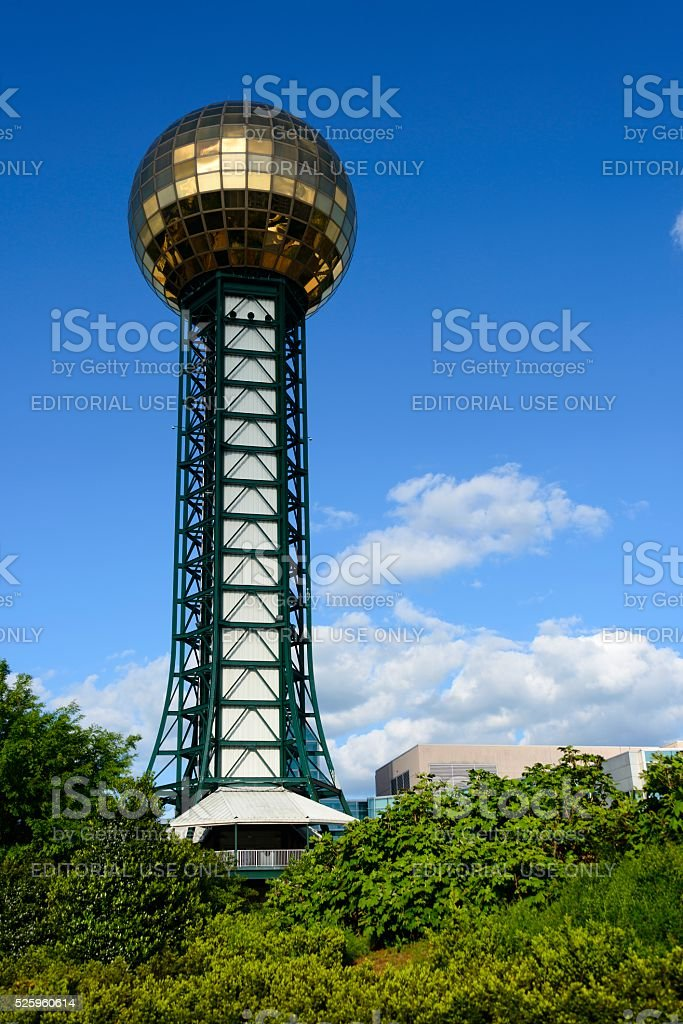 Knoxville Sunsphere stock photo